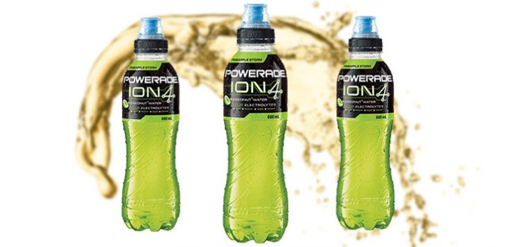 Powerade launches Pineapple Storm ION4 + Coconut Water