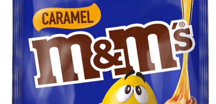 Launching in Australia at last – Caramel M&M's